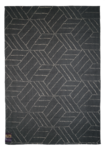 Kievari rug, dark grey / white