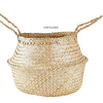 Folding basket, 30 cm, natural