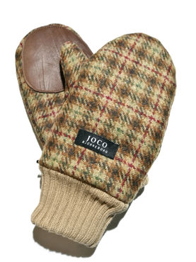 Joco björbeborg -mittens, brown/color