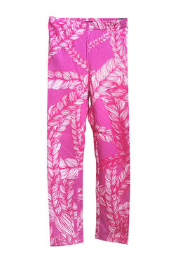 Braid leggings, magenta