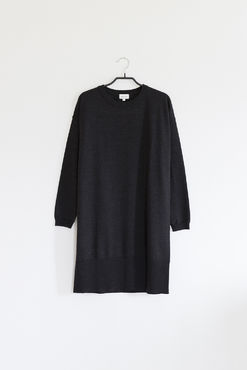 Aime knit dress, anthracite