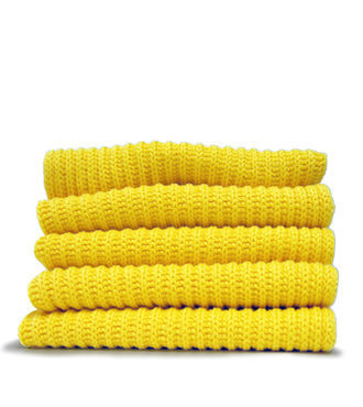 Dishcloth, yellow