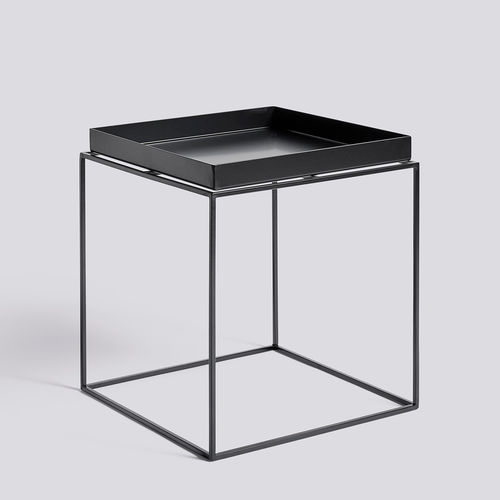 Hay Tray table, Medium, Black